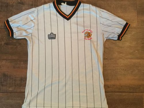 1982 1983 Hull City Away Football Shirt Adults Small